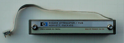 HP 33320H Programmable Step Attenuator DC-18GHz, 0-11b in 1db Steps Needs Repair