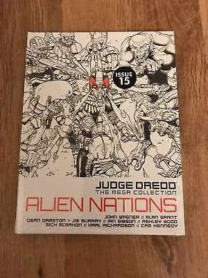2000AD Judge Dredd The Mega Collection Alien Nations Issue 15 Spine 75 *3