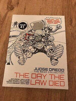 Judge Dredd, The Mega Collection, The Day The Law Died, Vol 33, Issue 41, New.