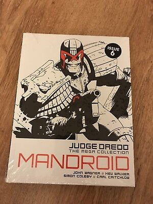 2000AD Judge Dredd The Mega Collection Mandroid Issue #6 Spine #25