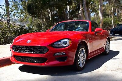 2017 Fiat 124 Spider  2017 FIAT SPIDER    LIKE NEW call 310 266 1812 for appointment