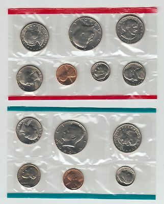1980 US Mint Uncirculated Coins *P and D*