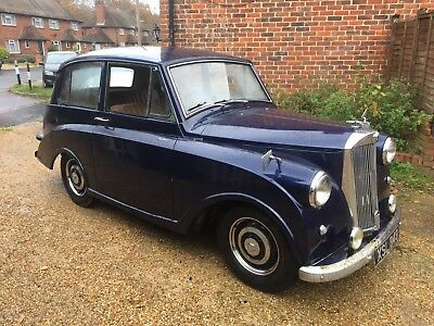 1952 Triumph Mayflower Blue Rare Car