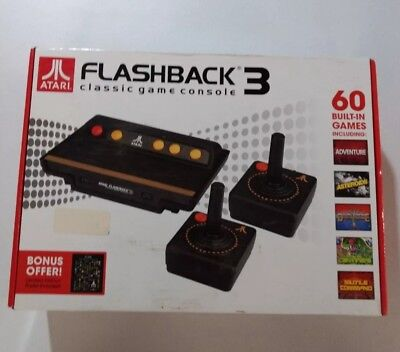 Atari Flashback 3 Classic Video Game Console w/ 60 Built-In Games ™