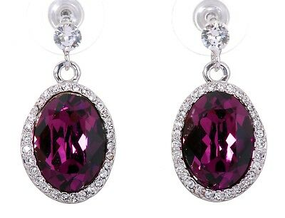 88b600d98828c SWAROVSKI CHRISTIE PIERCED Earring Jackets Clear Crystal/rhodium ...
