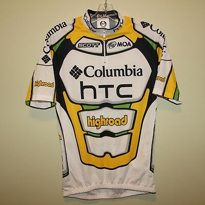 mint HTC COLUMBIA HIGHROAD MOA Sport cycling jersey size 5 maillot cycliste  XL d3ed1cfcf