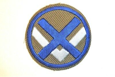 XV Corps German Theater Made Hand Embroidered Patch