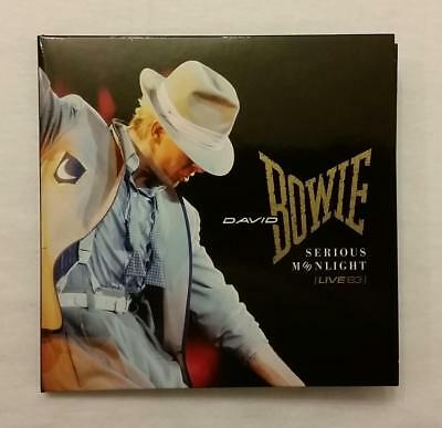 """David Bowie """"serious Moonlight Live 83"""" 2 Cd, From """"loving The Alien 1983-1988"""""""