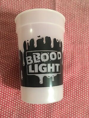 Bud Light Cup Halloween Blood Light Color Changing Cup 2 For $10