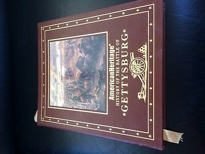GETTYSBURG - Easton Press - American Heritage History of the battle of