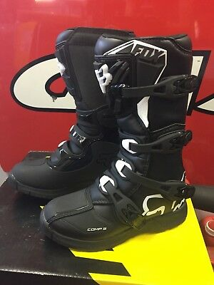 XMAS SPECIAL FOX Youth Comp3 Boots - Dirt Bike Boots Motocross Various Sizes