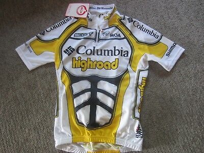 New Moa Columbia Highroad Cycling Jersey Sz 2 Or Mens S  Made In Italy aa3651381