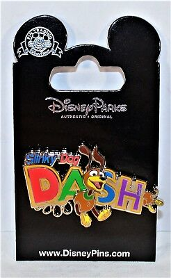 Disney Hollywood Studios Exclusive 2018 Toy Story Land Slinky Dog Dash 3-D Pin