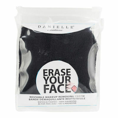 Danielle Creations - Erase Your Face Reusable Makeup Removing Cloth - Black