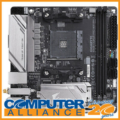 Gigabyte AM4 Mini ITX B450 I AORUS PRO WIFI DDR4 Motherboard
