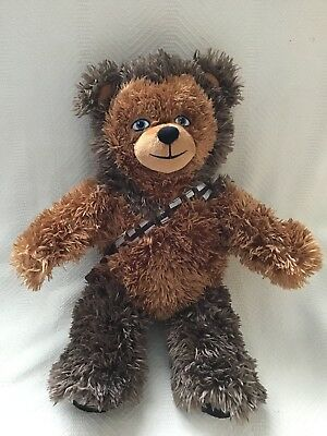 Build a Bear 18 in. Star Wars Chewbacca Bear Plush Toy - NEW