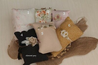 Newborn Baby Girls Boys Mini Pillow Set for Photo Prop Photography