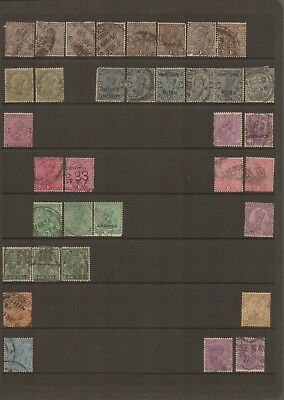 INDIA - Selection of very old USED Stamps