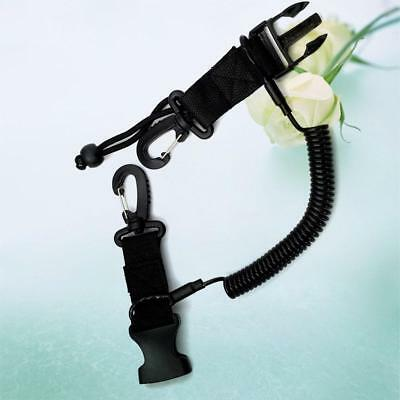 HOT Scuba Diving Lanyard Coil Anti-lost Rope Buckle Clip Climbing Carabine best