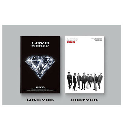 EXO LOVE SHOT 5TH ALBUM REPACKAGE  Version SELECT  CD + Folded Poster