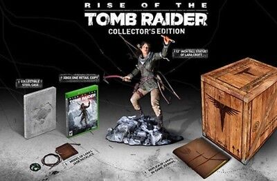 Rise of the Tomb Raider Collector's Edition: Brand New Sealed, SUPER RARE
