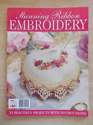 Stunning Ribbon Embroidery~25 Projects~114pp~2009~Patterns