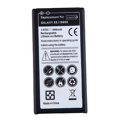 Replacement Li-ion Battery For Samsung Galaxy S5/i9600 EB-BG900BBE 3800mAhNTD