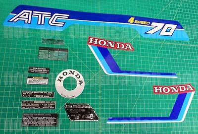 1983 83' Honda ATC 70 ATC 12pc Graphic decals stickers LIKE NOS trike