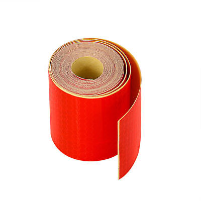 5x300cm Red Stripe Reflective Sticker Warning Conspicuous Tape Film Sticker
