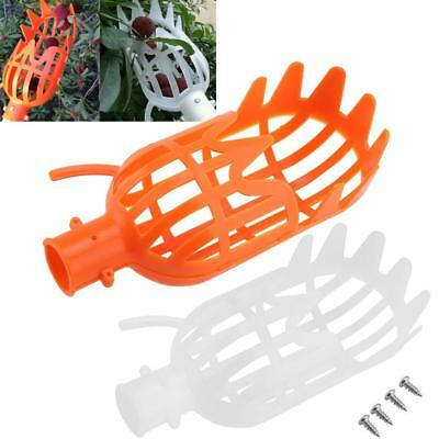 Plastic Fruit Picker Picking Basket Catcher Collecting Tools Gardening Orchard