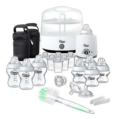 Tommee Tippee Milk Food Warmer Closer To Nature Complete White Baby Feeding Set