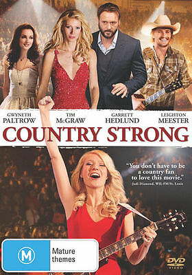 Country Strong (DVD, 2011) REGION-4-NEW AND SEALED- FREE POST WITHIN AUSTRALIA