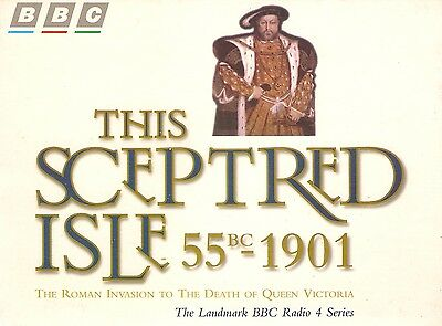 This Sceptred Isle: 55BC to 1901; Vol 1-10 (20 Cass A/Book Boxset 1996)