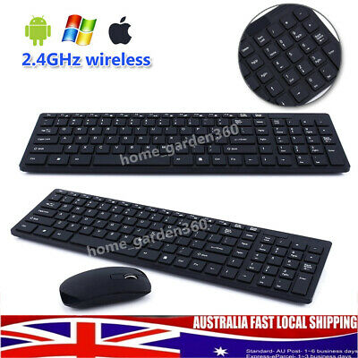 Wireless Keyboard and Mouse Microsoft Desktop Keyboard Mouse Combo For PC Laptop
