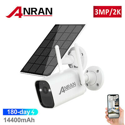 ANRAN 1080P Wireless WiFi IP Camera Security System Indoor Pan Tilt Audio 16G UK