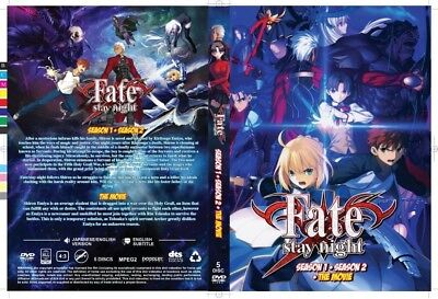 ANIME DVD FATE Stay Night Season 1 + 2 And The Movie ENGLISH DUBBED #A282