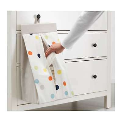 IKEA - DRÖMLAND Nappy stacker - Multicolour - touch-and-close fastening