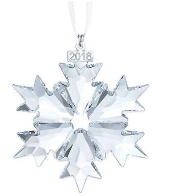 SWAROVSKI Christmas Ornament Annual Edition 2018, large star (5301575)