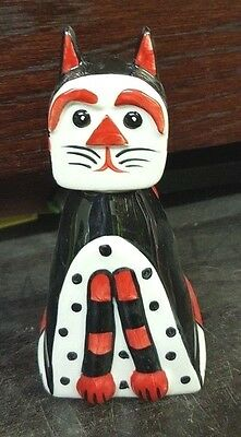 Lorna Bailey DENNIS THE CAT Limited Edition 4/4 FREE P&P