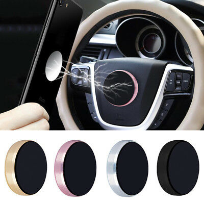 Universal Mobile Phone Mount Holder GPS Strong Magnetic Car Steering Wheel Dash