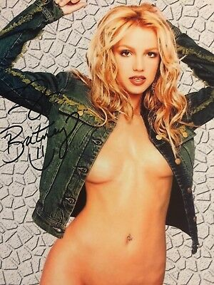 BRITNEY SPEARS SIGNED AUTOGRAPHED 8.5x11 PHOTO W/COA