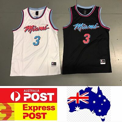 brand new 82d94 3b697 MIAMI HEAT #3 Dwyane Wade City Edition jersey, white color or black color