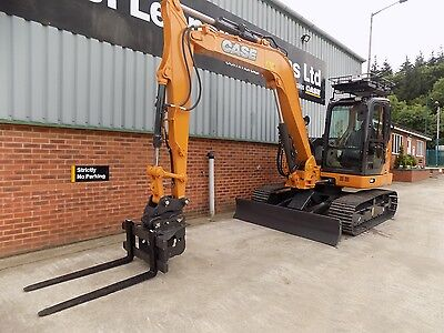 2018 Dromone Pallet Forks To Suit 6-9 Ton Excavator On 45&50Mm Pins/delivery Inc