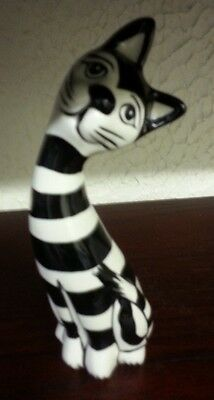 Lorna Bailey Pottery Cat Humbug Excellent Condition FREE P&P