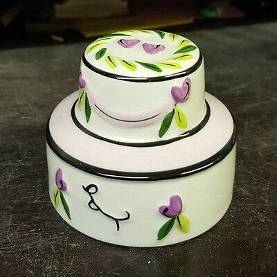 Lorna Bailey WEDDING CAKE signed in blue Limited Edition FREE P&P