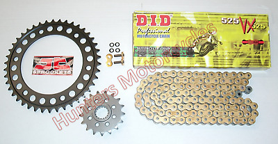 BMW F800 GS Adventure DID Gold X-Ring Chain & JT Sprockets Kit Set