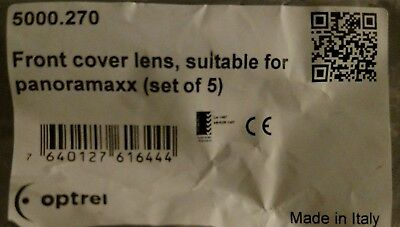5000.270 front cover lens, suitable for Panoramaxx, 5 pk,made by Optrel