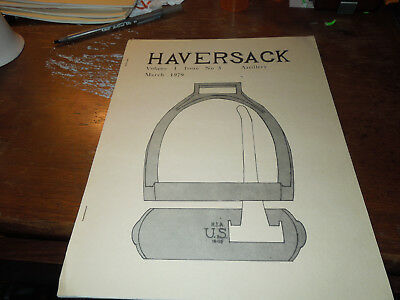 Haversack -The Journal of Historic U.S. Military equip Vol 1 Issue 3 ..Artillery