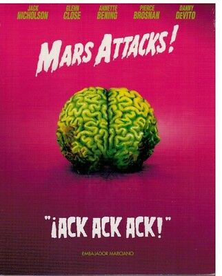 Mars Attacks ! (Bluray Nuevo)