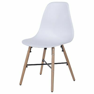 Enjoyable Pair Of Dining Chairs White Plastic Kitchen Seats Wooden Leg Bralicious Painted Fabric Chair Ideas Braliciousco